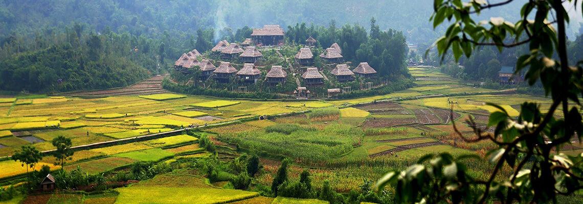 La beauté cachée du Vietnam 15 jours mai chau