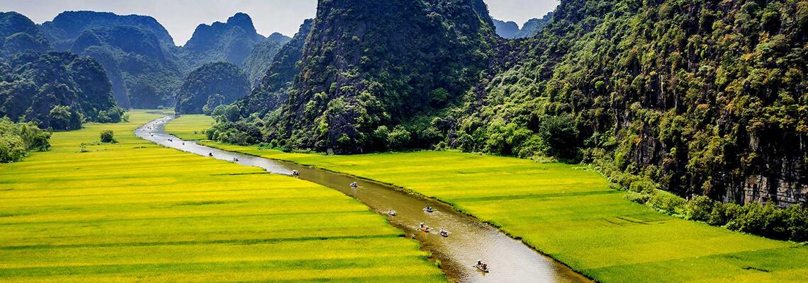 Merveilles du Vietnam 17 jours tam coc