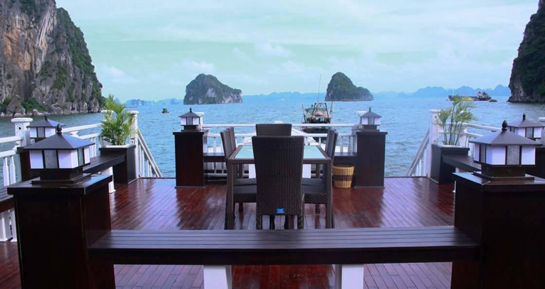 Amira Cruise 3 cabines terrasse