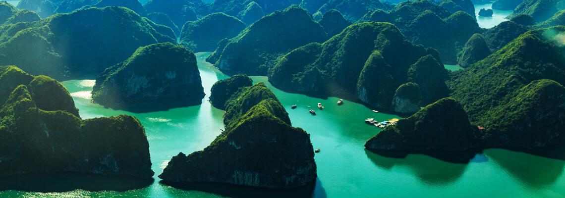 Au bord de l'eau du Vietnam 13 jours