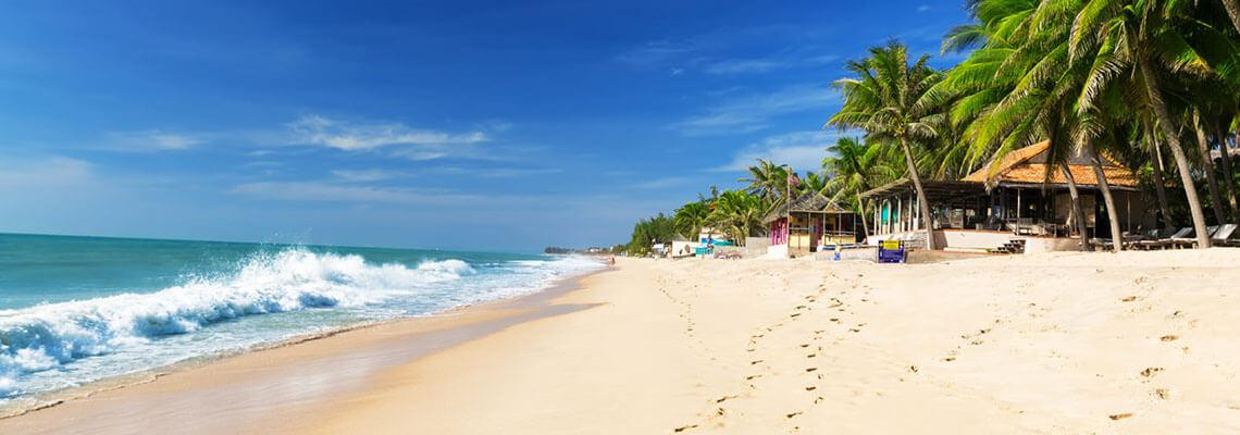 Beauté cachée et détente à la plage muine