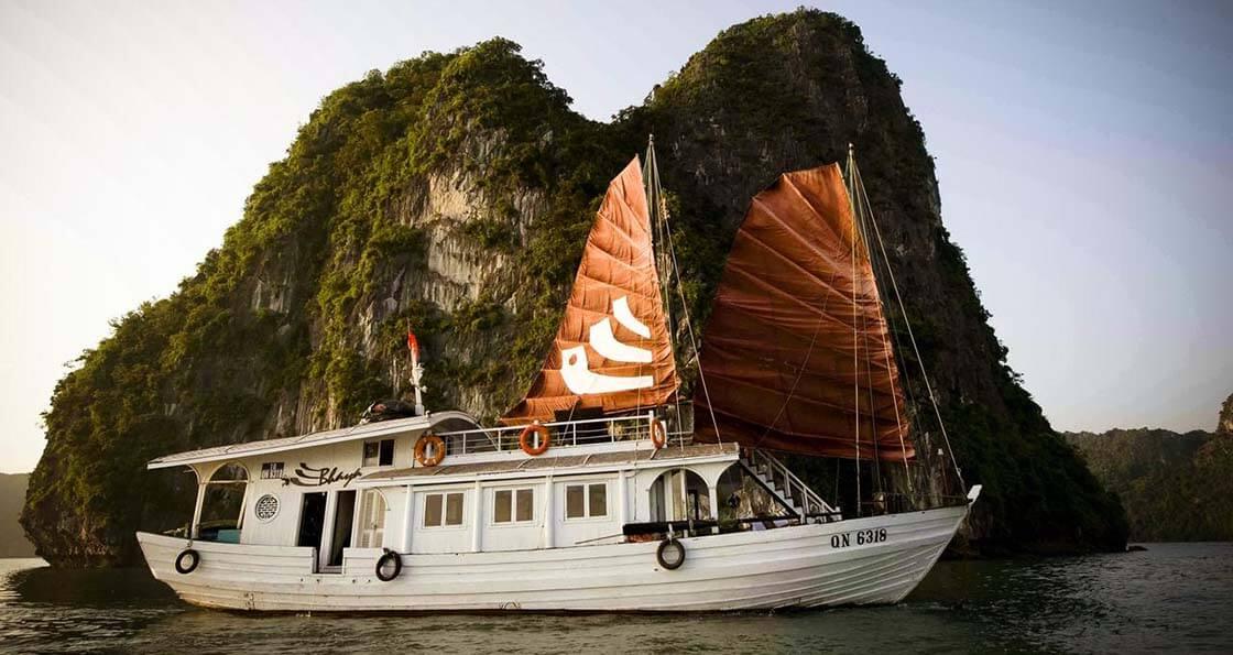 Bhaya Legend 2 cabines baie d'halong