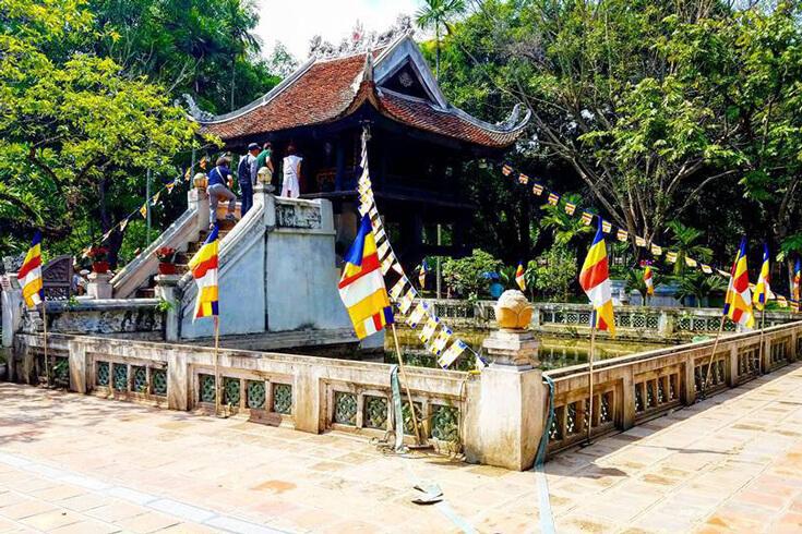 Activités à la pagode au pilier unique