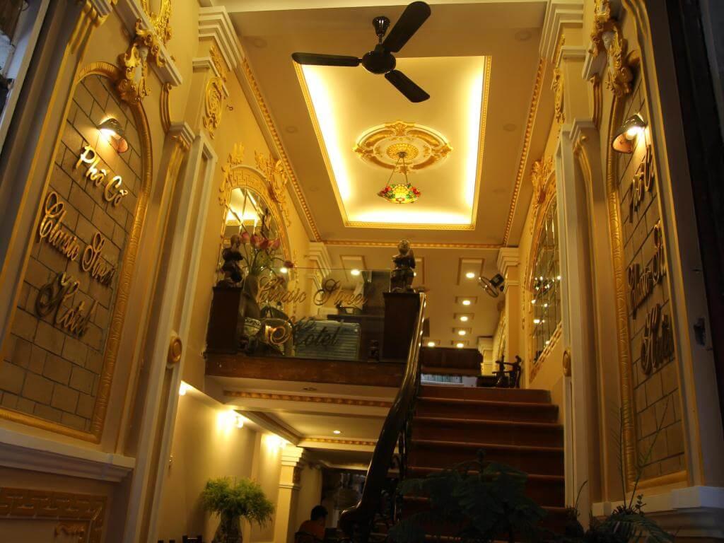 Classic street hotel Hanoi