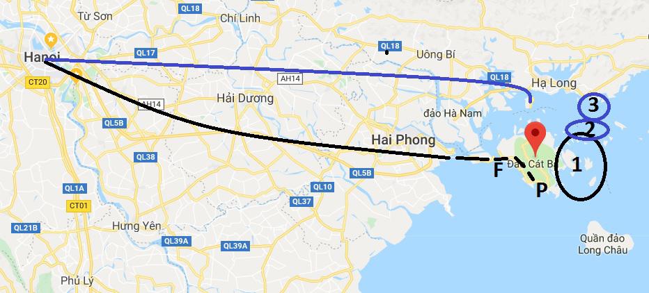 Comment se rendre à la baie de Lan Ha