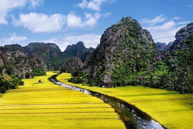 Excursion de visiter Hoa Lu et Tam Coc