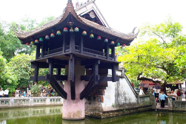 Histoire de la pagode au pilier unique