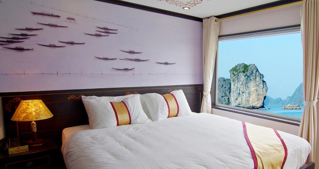 Jonque Huong Hai Sealife cabine
