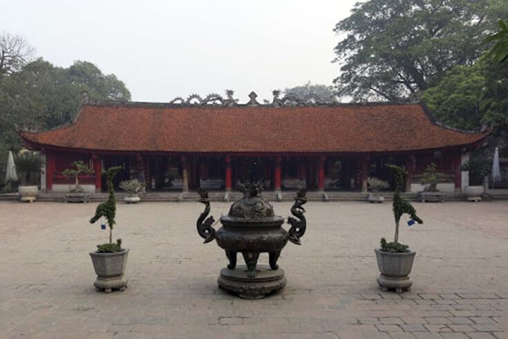 La Quatrième Cour – Đại Thành Môn (La porte du grand succès) et Đại Bái Đường (Maison de la cérémonie)