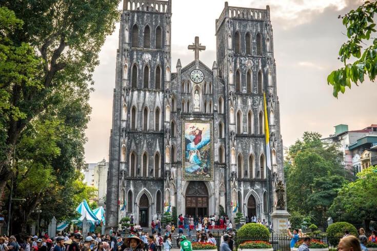 La cathédrale historique Saint-Joseph