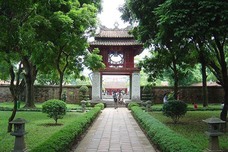 La deuxième cour – Khuê Văn Các (Le pavillon de la constellation)