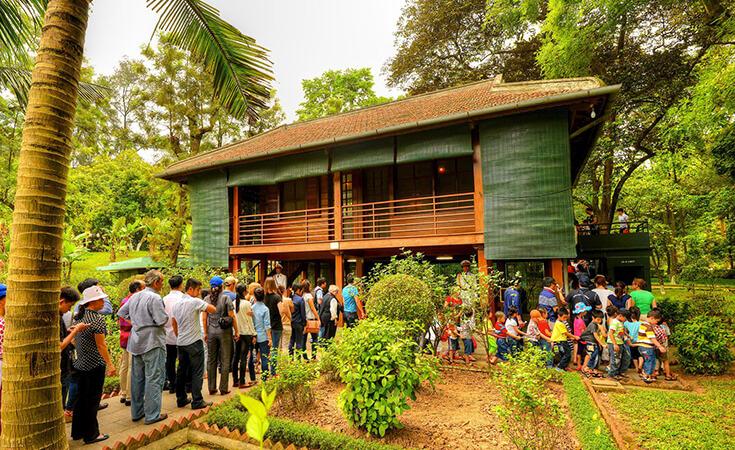 La maison sur pilotis de Ho Chi Minh