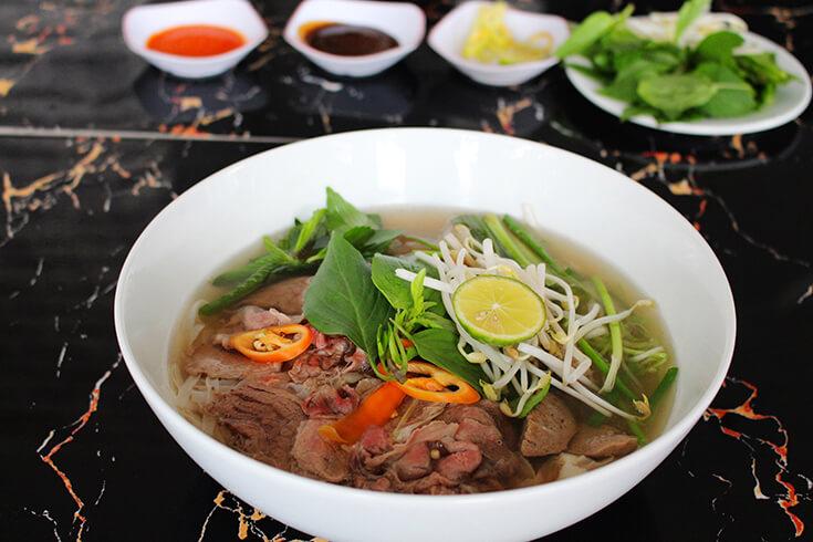 La recette de la soupe pho au bœuf pour 7 personnes