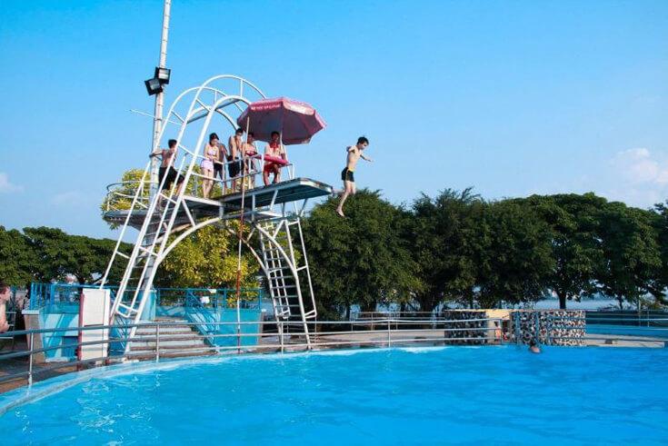 Le parc aquatique du lac de l'Ouest