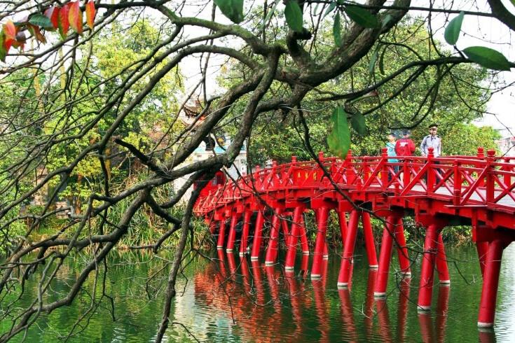 Le pont Huc