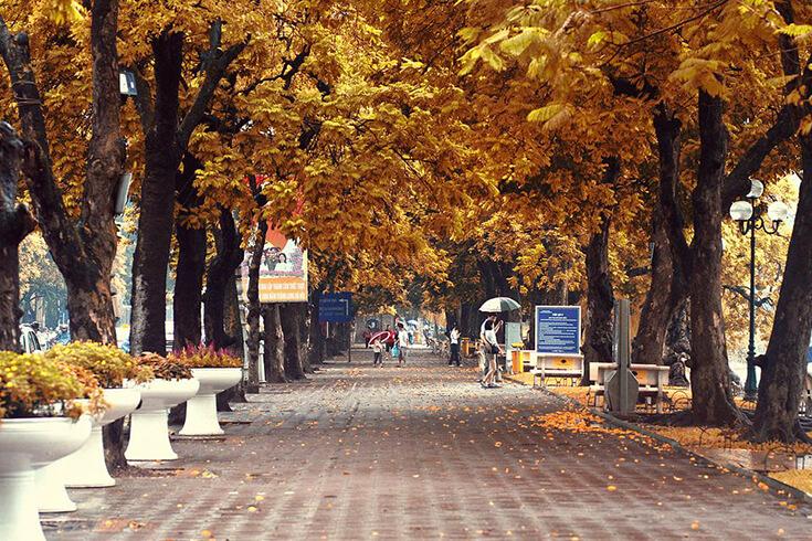 Météo Hanoi en automne