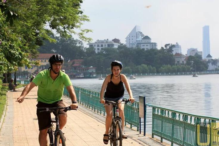 Marcher, courir et faire du vélo
