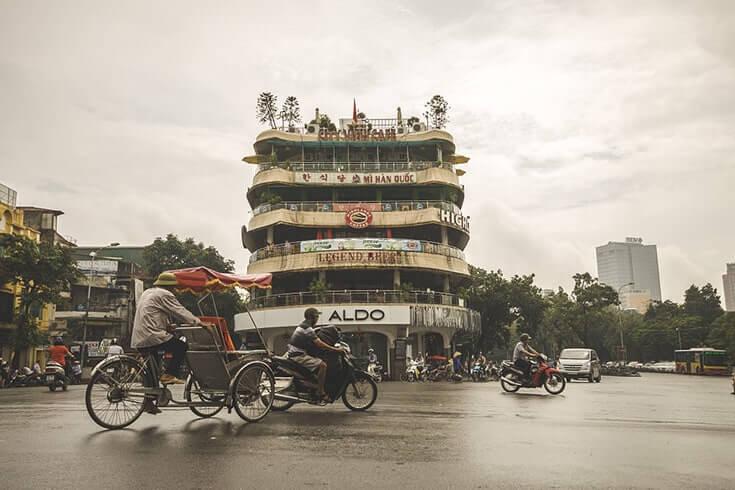 Où se trouve le vieux quartier de Hanoi