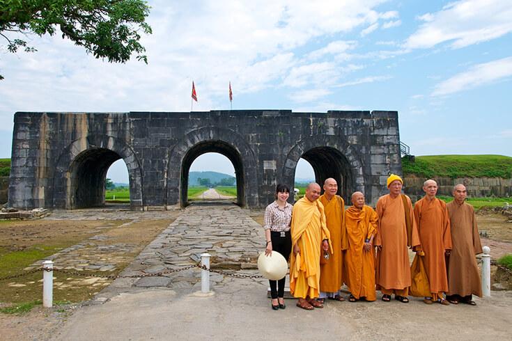 Voyage à Hanoi - visiter la Citadelle de Ho