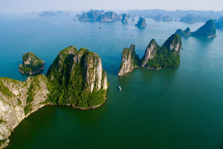 Voyage à Hanoi - visiter la baie d'Halong
