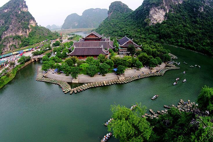 Voyage à Hanoi - visiter trang an