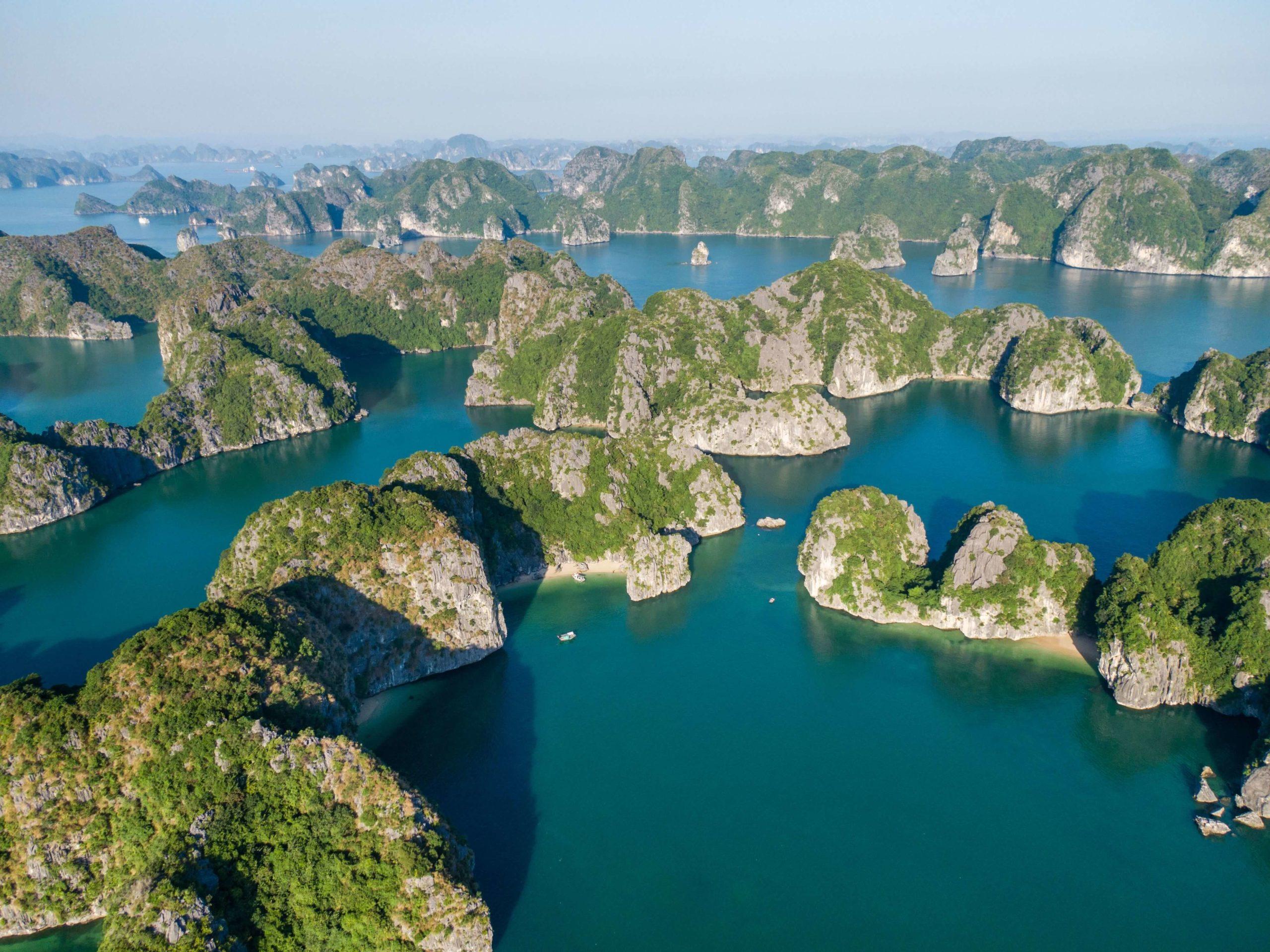 baie de Lan Ha cat ba