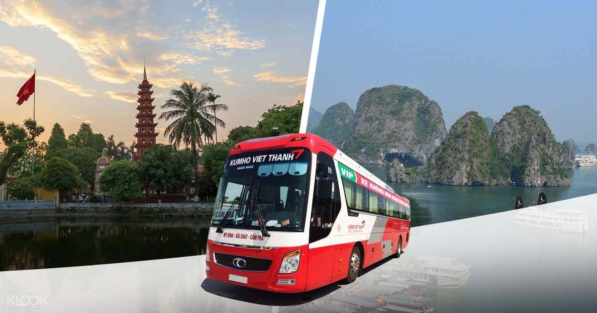 bus de Hanoi - baie d'halong