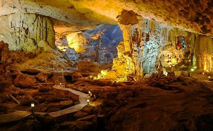 grotte de Trung Trang