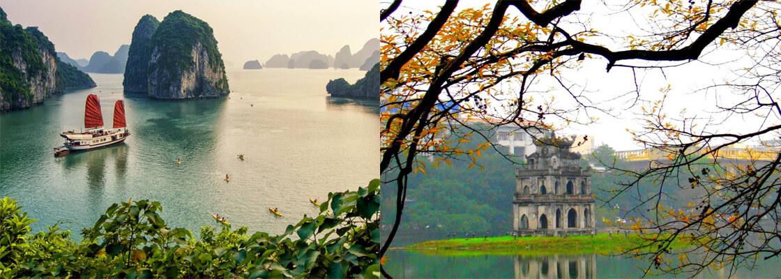 Hanoi baie d'halong