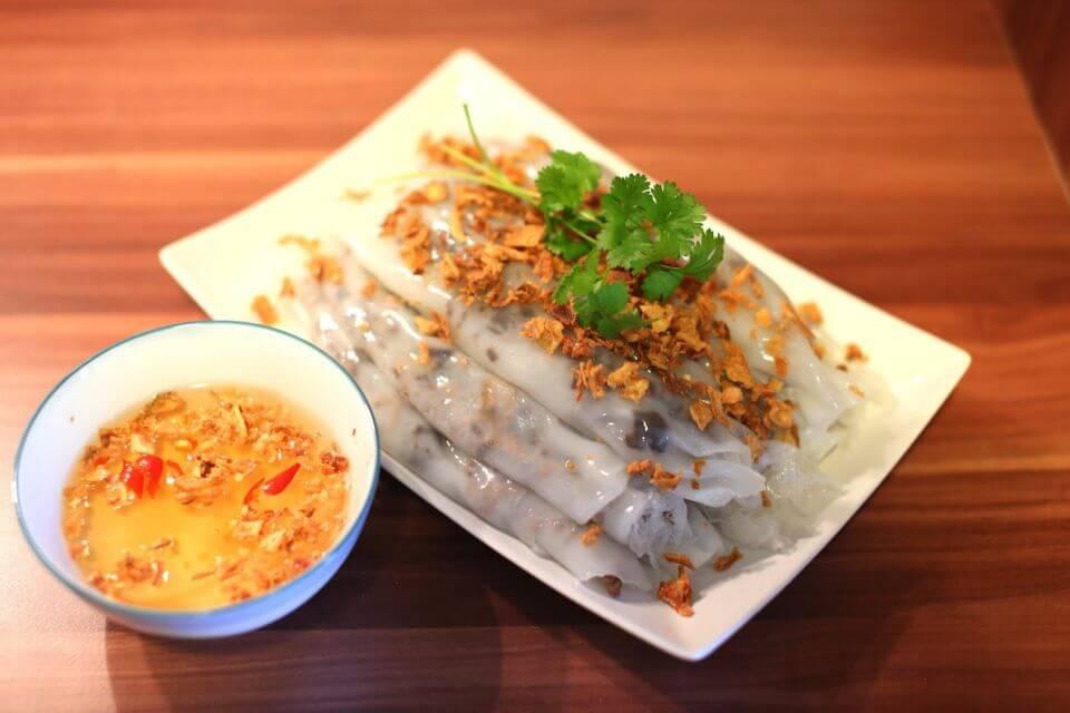 Rouleaux de riz à la vapeur vietnamiens