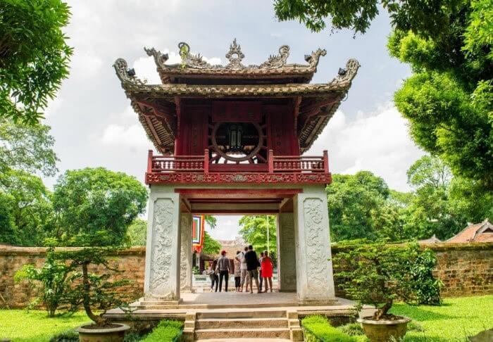 Temple de la littérature Quoc Tu Giam