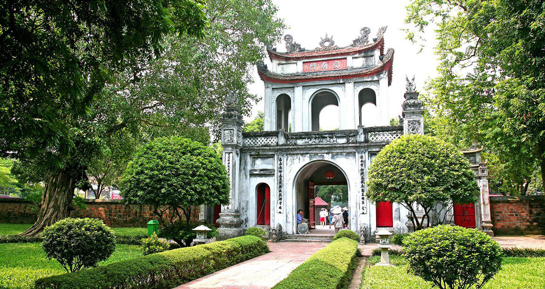 hanoi guide temple de la litterature