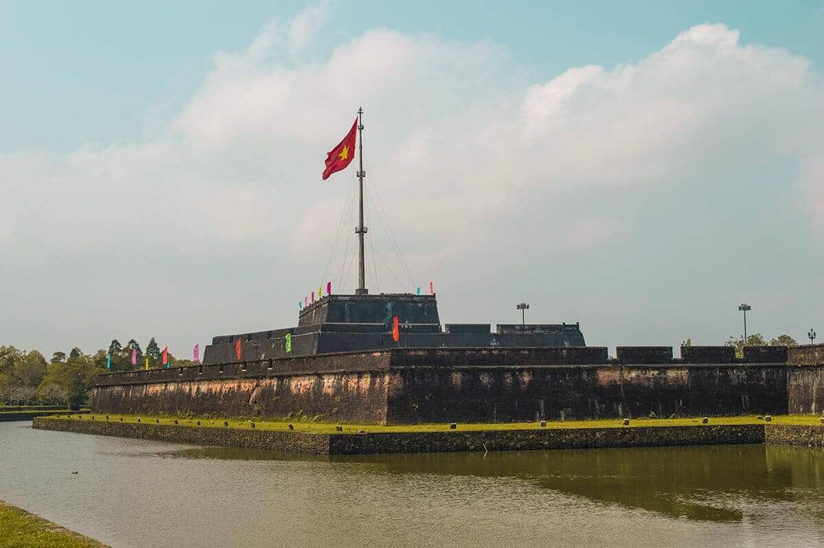 Comment se rendre à la cité impériale depuis le centre ville de Hue vietnam