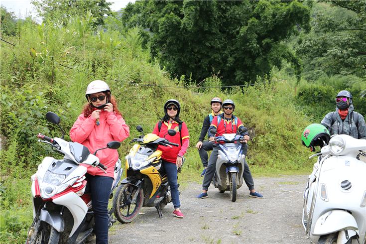 De Hanoi à Ninh Binh en moto