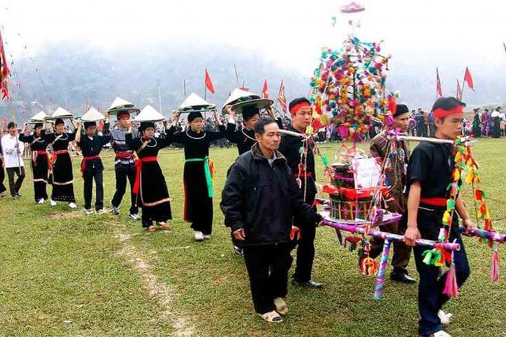Gau Tao, festival du peuple H'mong
