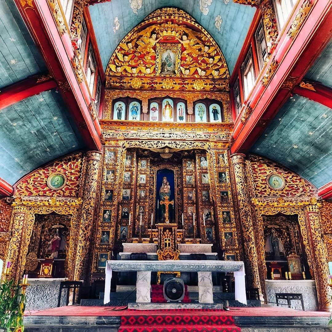 Horaires des messes de la cathédrale de Phat Diem