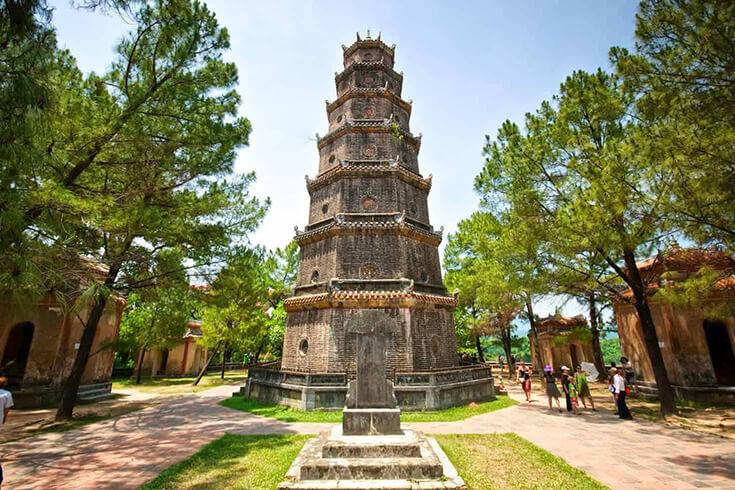 Informations utiles pour visiter la pagode Thien Mu