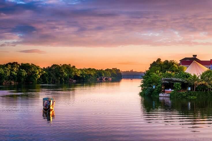 L'inspiration des artistes de la rivière des parfums (ou rivière Huong)