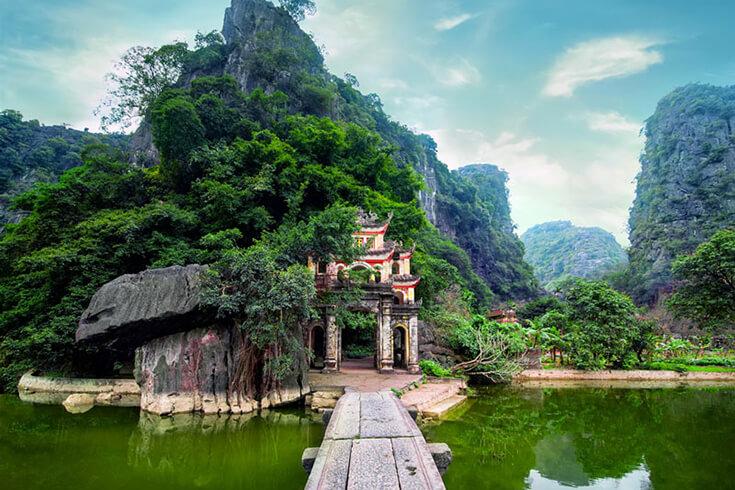 L'origine de la pagode de Bich Dong