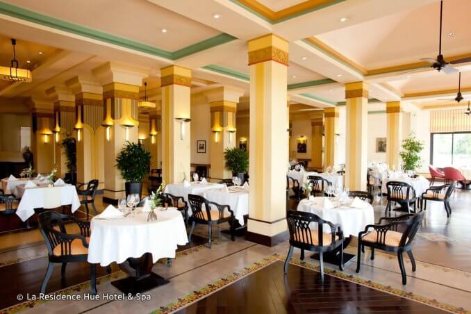 Le Parfum Restaurant at La Residence Hue Hotel & Spa