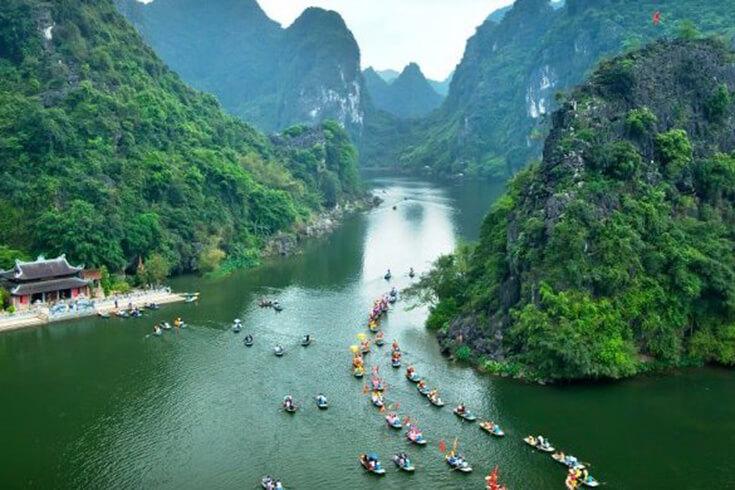 Le meilleur moment pour visiter Trang An et les pagodes
