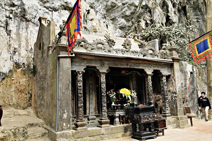 Le temple de Tran trang an