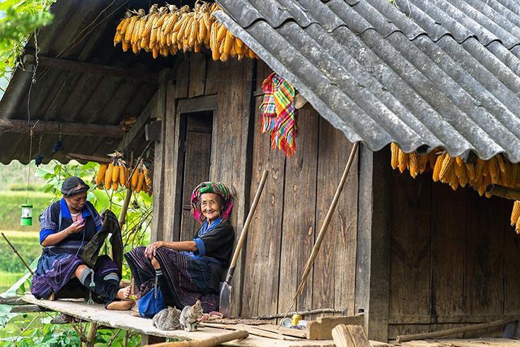 Les villages ethniques