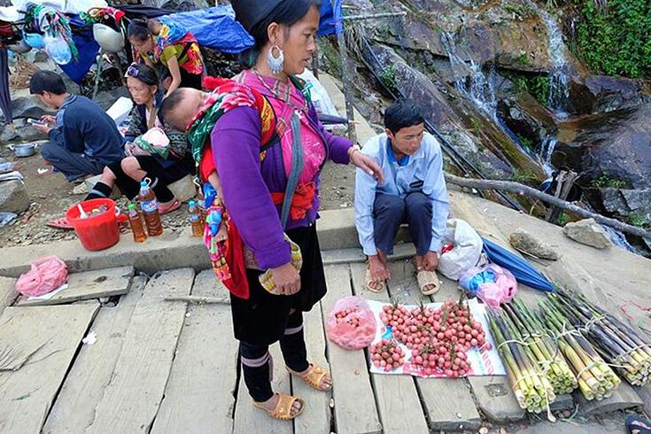 Marché de Cao Son Sapa