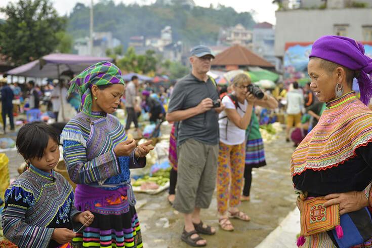 Quand visiter le marché de Bac Ha