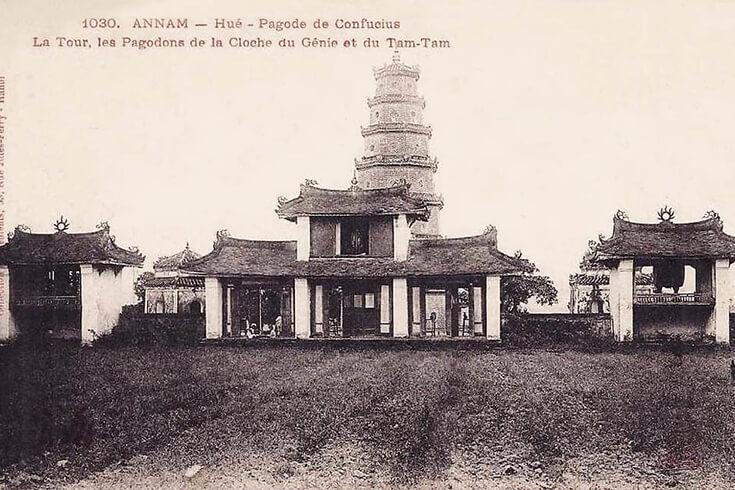 Rôle historique de la pagode de la dame céleste Hué