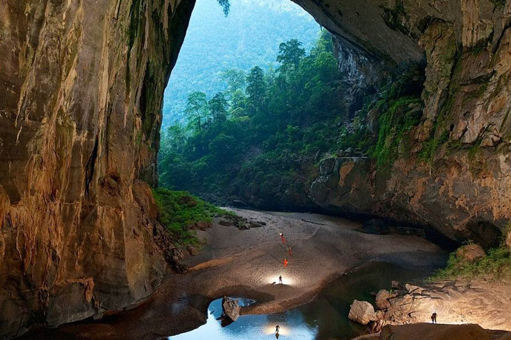 Randonnée à la grotte de Son Doong (Quang Binh)