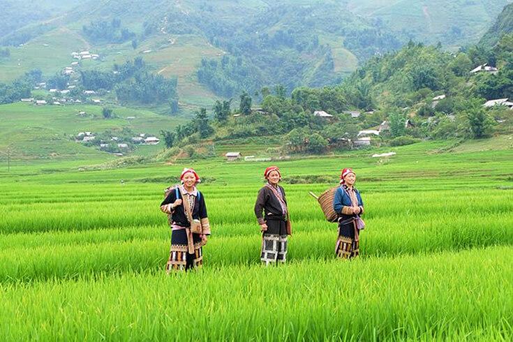 Route Ban Ho – Village de Nam Toong
