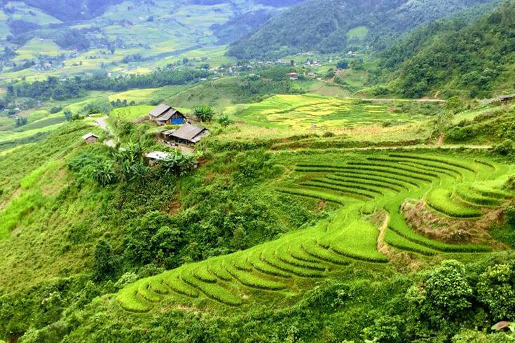 Route Lao Chai – Tavan – Giang Ta Chai