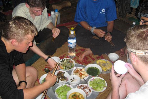 Séjour chez l'habitant au village de Muong